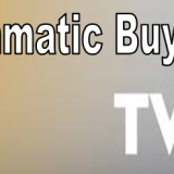 When will the programmatic buying start on Television Advertising?