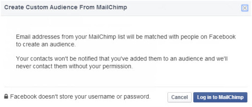 MailChimp on FB_kOA